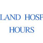Auckland hospital Hours